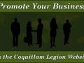 Coquitlam Legion Advertising