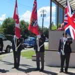 Coquitlam Legion Colour Party