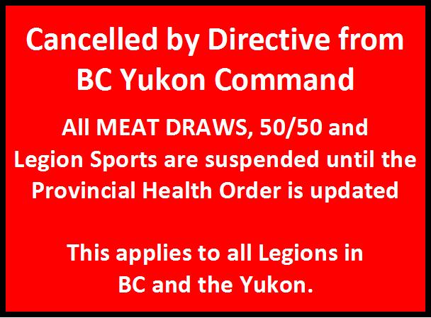 BC Yukon Command Directive - 2020